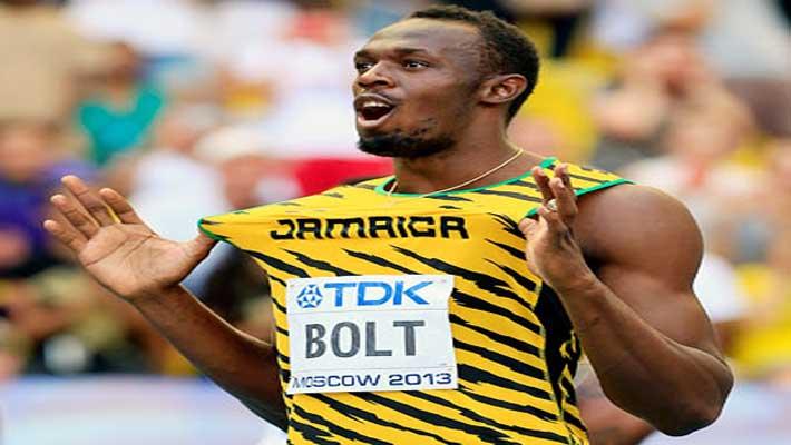 Usain Bolt regains world 100m-sprint title in World Athletics C'ship