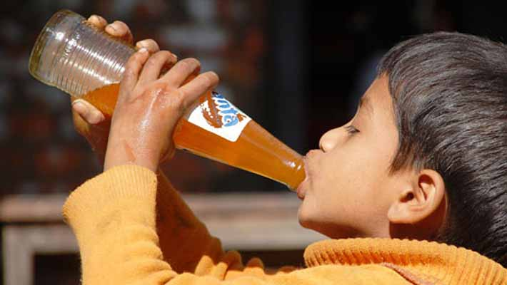 Soft drink consumption linked to increased aggression in kids