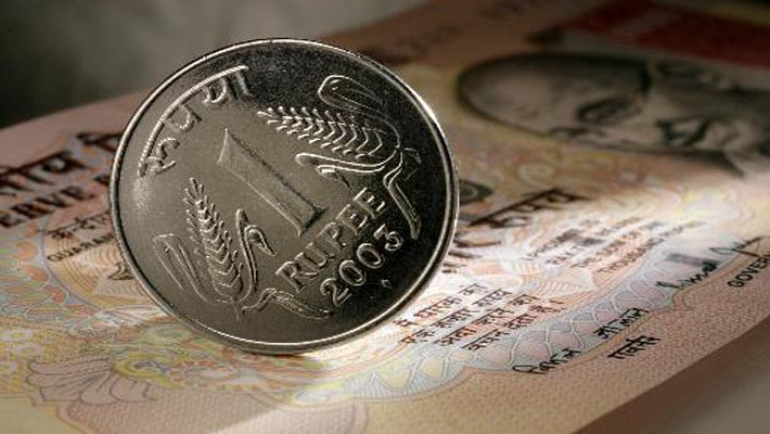 Rupee recovers after hitting record low at 65.56 per dollar