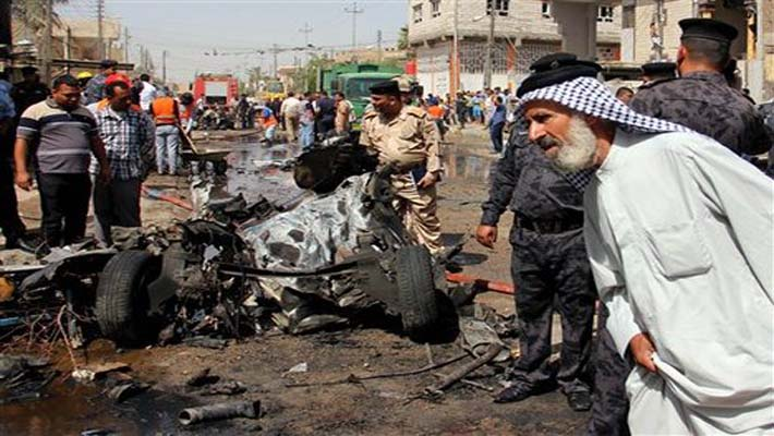 Series of car bomb blasts kill 80 people in Iraq