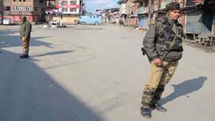 Curfew imposed at several places in Jammu division