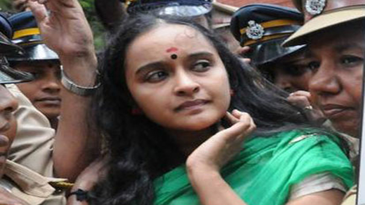 Govt against granting bail to Shalu Menon