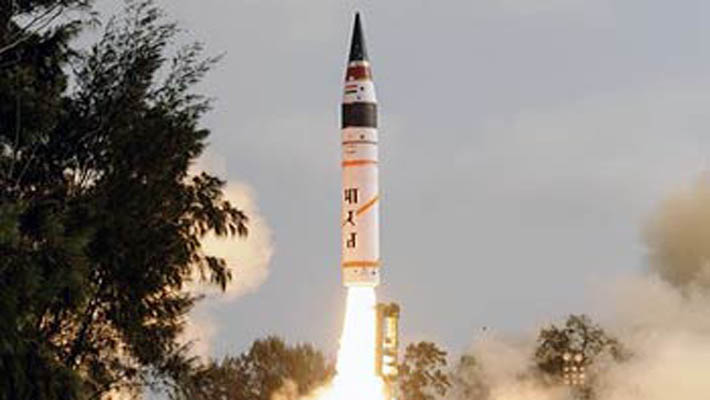 Agni-5, India's most potent nuclear-capable ballistic missile, launched successfully