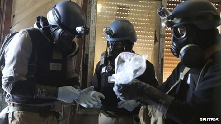 OPCW confirms Syria's chemical weapons production facility completely destroyed