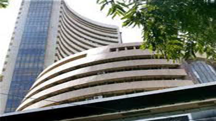 Sensex up 467 points to close above 20,000 mark