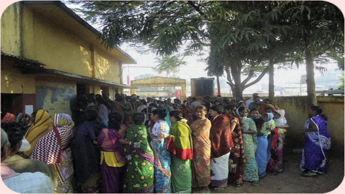 Over 70% polling in final phase of C'garh Assembly Elections