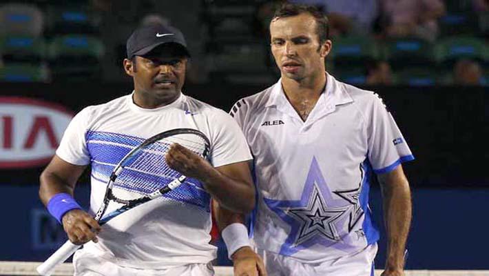 Paes & Stepanek begin Doubles campaign at World Tour Finals