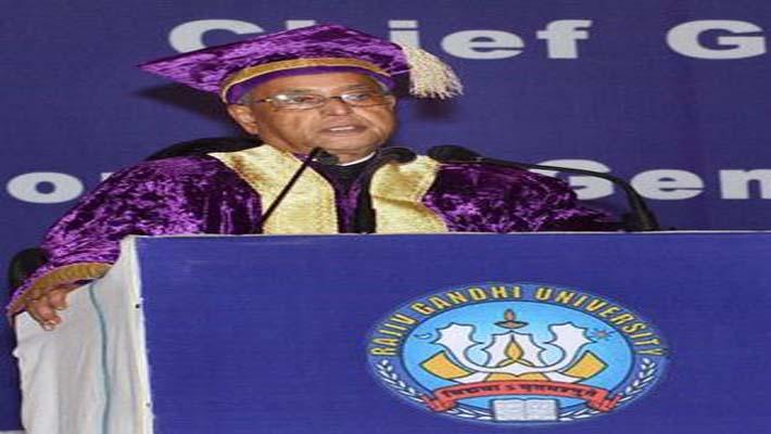 President Pranab Mukherjee emphasises on Quality education