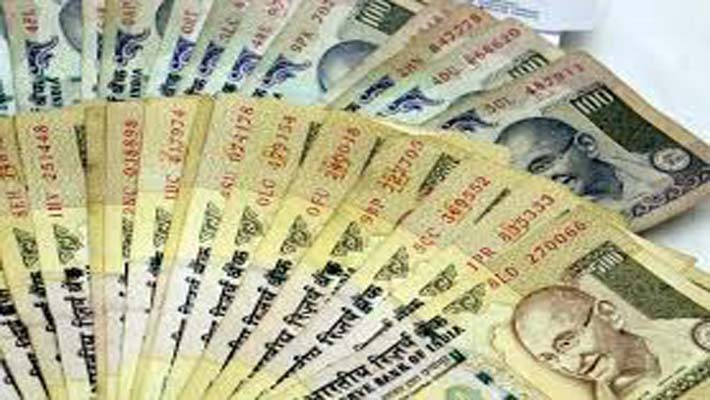 Rupee up by 37 paise against dollar