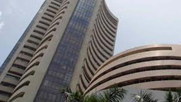 Sensex down 157 points to close above 20,000 mark