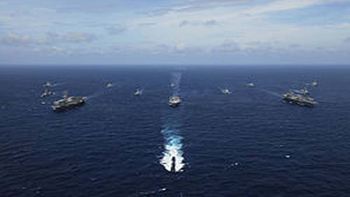 India-US naval exercise, Malabar, underway in Bay of Bengal