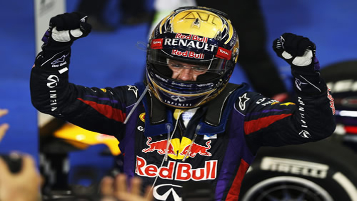 Sebastian Vettel registers 7th consecutive win at Abu Dhabi F1 Grand Prix