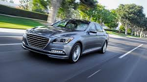 Hyundai reveals sleek, high-tech 2015 Genesis