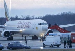Co-pilot hijacks Ethiopian plane and requests asylum in Geneva