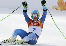Sochi Games: Ligety is king of giant slalom, India's Thakur 72nd