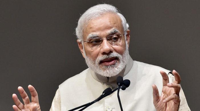 PM Modi condoles death of TSR Subramanian