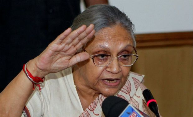 Cong names Sheila Dikshit as CM for UP polls