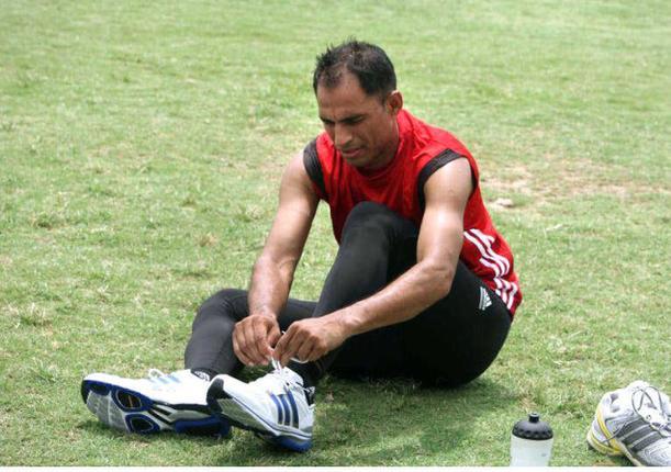 Marathon runner Arun Bhardwaj calls highway road a challenge