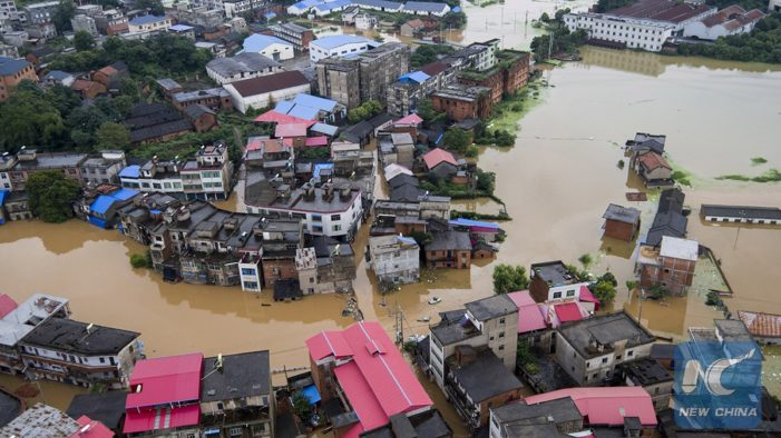 93 killed in heavy rains in China