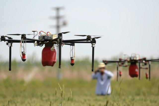 Hi-tech farming: Drones to monitor agriculture growth in India