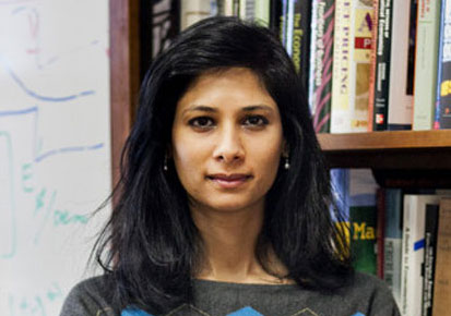 Honoured And Humbled By Appointment As Economic Advisor, Says Gita Gopinath