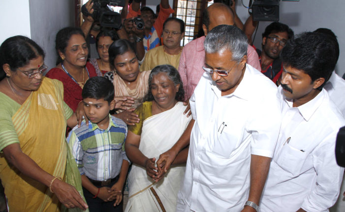 Murdered Dalit woman's mother gets newly built home