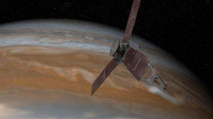 NASA's Juno successfully begins orbit of Jupiter