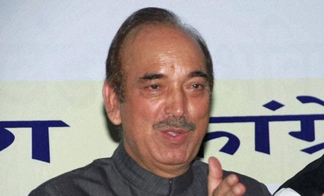 "What's happening in Kashmir is ""Gujarat "": Azad"