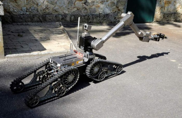 Use of lethal force by a robot raises legal questions