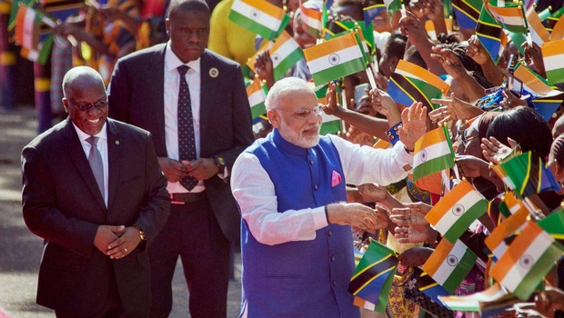 Modi leaves for Kenya after concluding Tanzania visit
