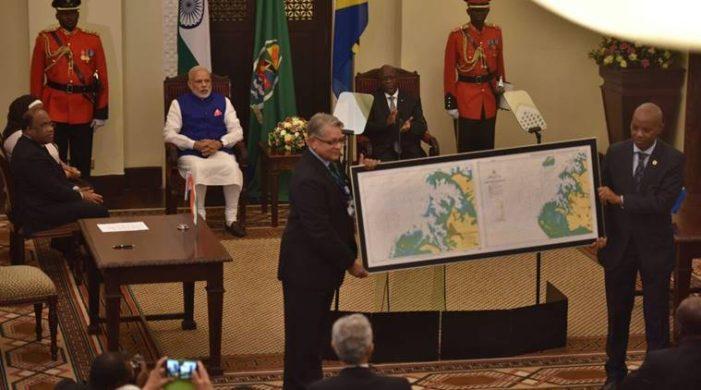 India hands over navigational chart to Tanzania