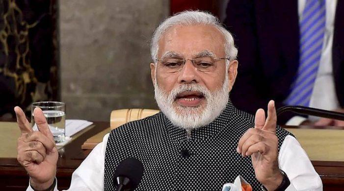 PM Modi's speech in Parliament