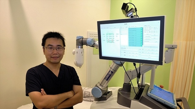 Now, robot therapist to help relieve muscle strains