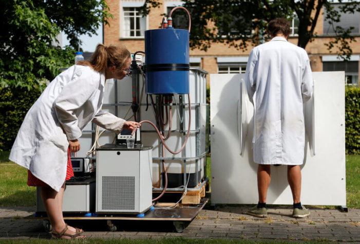 Belgian scientists turn urine into drinkable water