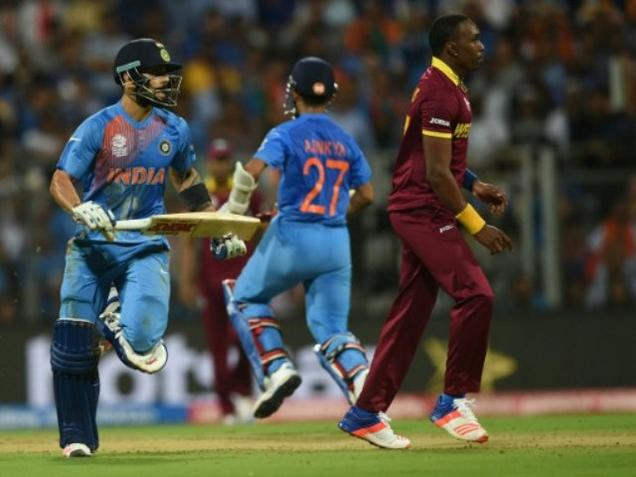 Ist in USA:Indian team to play T20s vs Windies