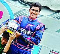 Chatterjee claims a double in JK Racing
