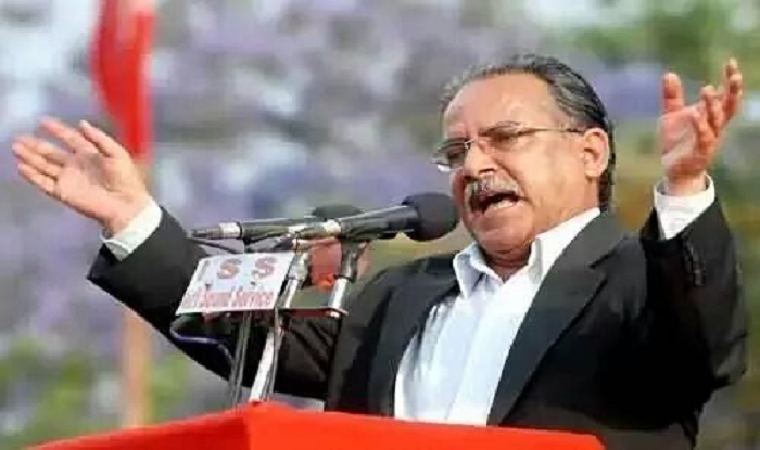 Prachanda files nomination as Nepal PM candidate
