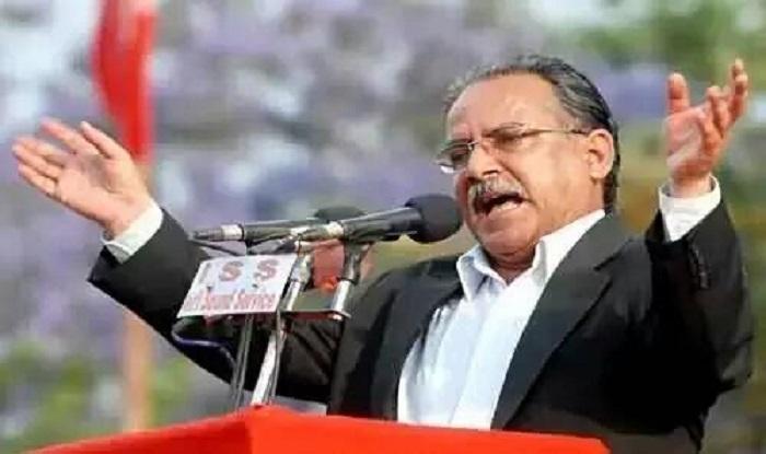Prachanda files nomination as Nepal PM candidate