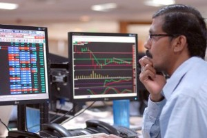 Sensex washes out early gains, slides 49 pts in see-saw trade