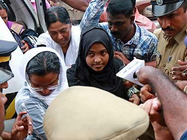 Hadiya 'still' struggling for her 'freedom'