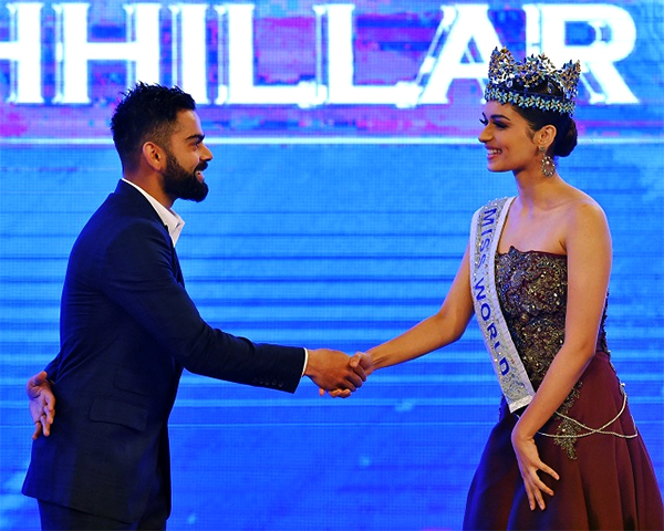 Miss World 2017 Manushi Chhillar Asks Cricketer Virat Kohli A Question, His Reply Won Our Hearts