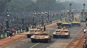 India marks 69th R-Day with grand parade