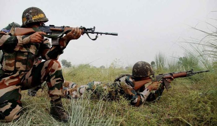 515 infiltration cases in J-K in 2017; 75 militants killed