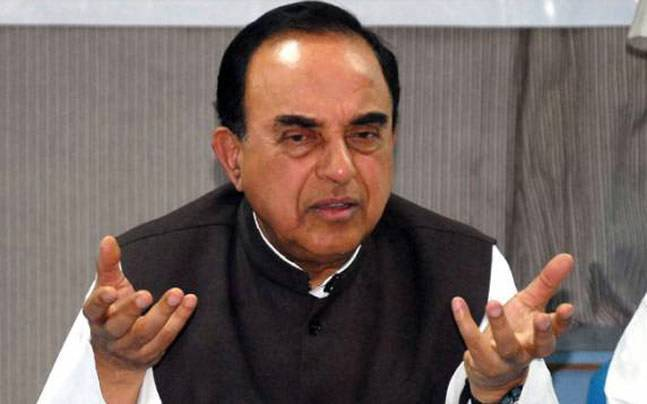 Swamy questions Sitharaman's silence over Mufti's FIR