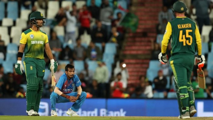 Manish Pandey, MS Dhoni knocks in vain; South Africa level T20 cricket series vs India