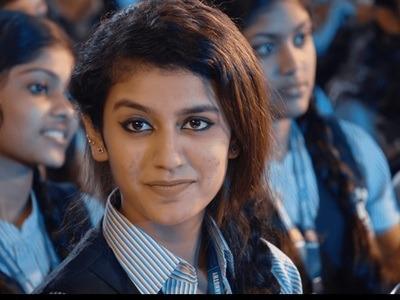 After 'Jimikki Kammal' Sheril, 'Oru Adaar Love' Priya Prakash Varrier is the latest Malayalam sensation