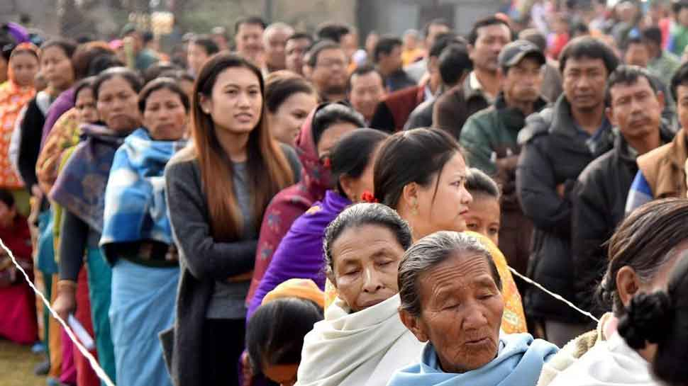 Voting begins in Nagaland, Meghalaya