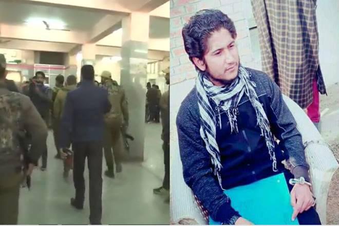 Pakistani terrorist escapes after shots fired at Srinagar hospital