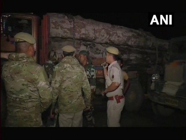 4 truckloads of timber seized in Manipur