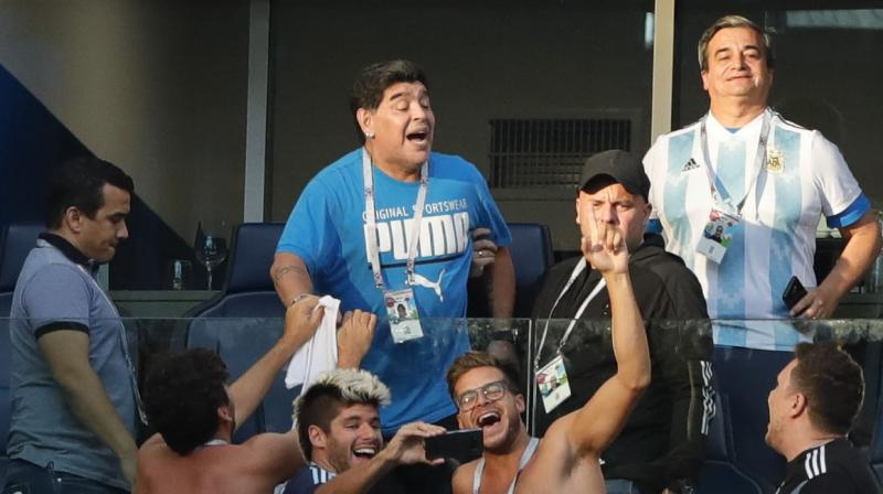 FIFA World Cup 2018: Watch animated Diego Maradona grab spotlight as Argentina win